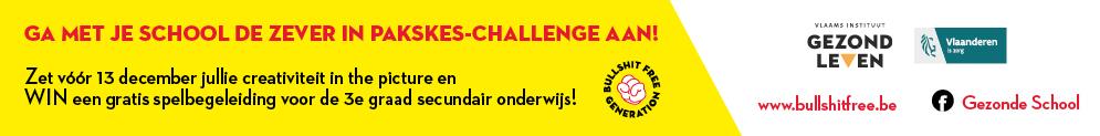 Doe mee aan de Zever in pakskes-challenge en WIN een spelbegeleiding over het thema roken voor de 3de graad secundair onderwijs. Check www.bullshitfree.be