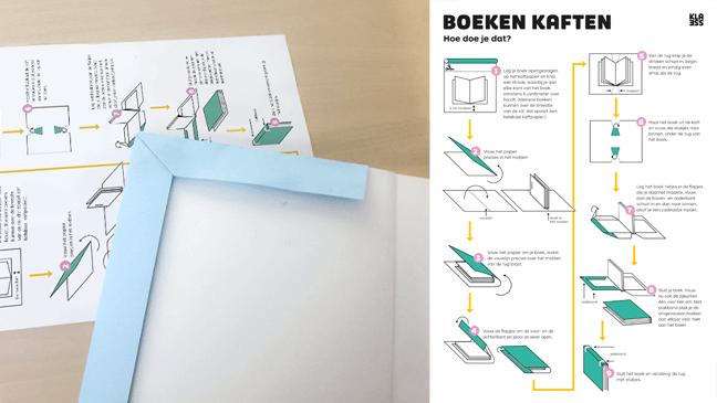 foto Klik en print 'Boeken kaften'