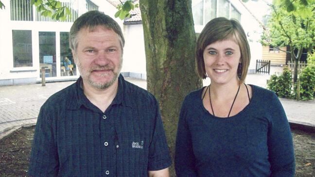 Marcel Bosmans en Joke Hermus