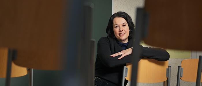 leerlingenbegeleider Catherine Lesage