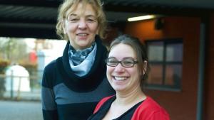 Marina Sleurs en Liesbeth Vos