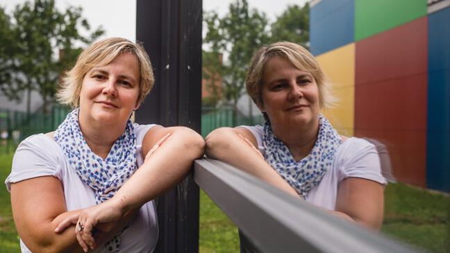 Leraar Liesbet Jacobs (43)