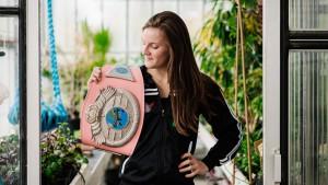 Wereldkampioen Muay Thai (kickboksen) Anke Van Gestel