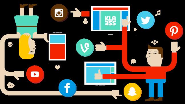 Onwijs Sociale media op school – Klasse JS-77