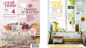 2 covers Ariadne At Home magazine