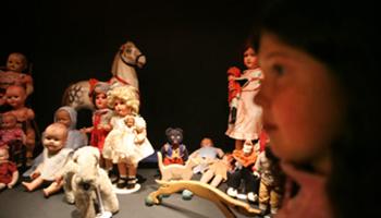 oude poppen (speelgoed)
