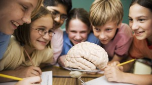 Leerlingen doen aan groepswerk