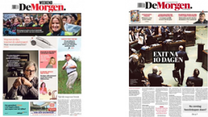 Cover van De Morgen