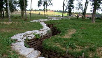 Loopgraven in Bayerwald