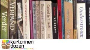 Boeken in boekenrek