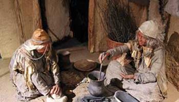 Mensen koken in de oudheid