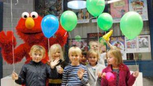 Workshop met kinderen in CC Jan Tervaert