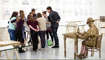 workshop in museum