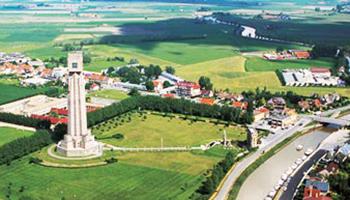 luchtfoto van toren