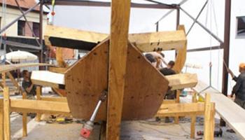 bouw van replica