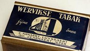 oude Wervikse tabak verpakking