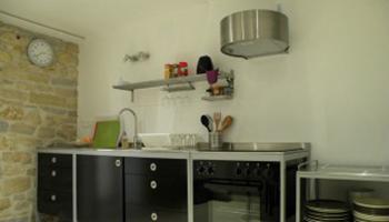 keuken b&b Maison Les Fraysses