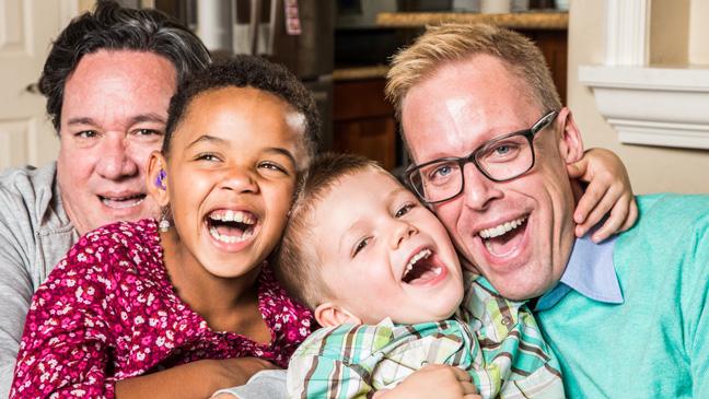Papa's met hun kinderen