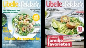 2 covers Libelle Lekker magazine