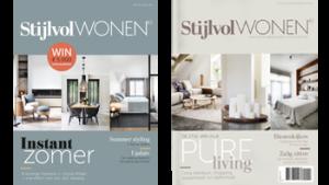 2 covers Stijlvol Wonen magazine