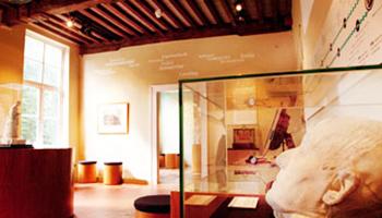 tentoonstelling in museum
