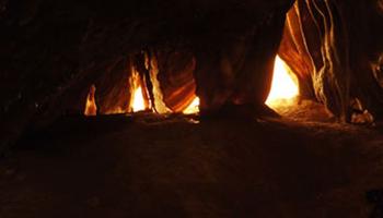 binnenkant grot