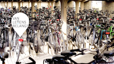 fietsenstalling als metzfoor gebruikt in debat over eindtermen