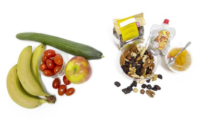 fruit, groenten en noten