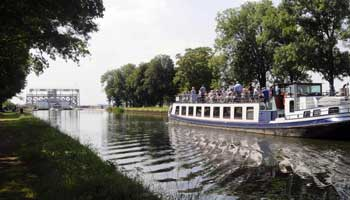 Boottocht over het Canal du Centre