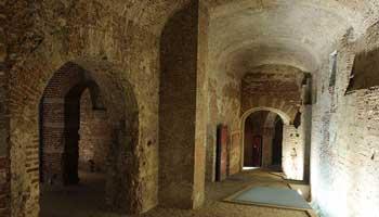 Tunnels van het oude kasteel Coudenberg