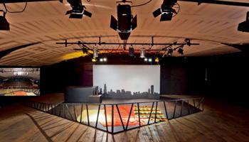 Een leeg theater