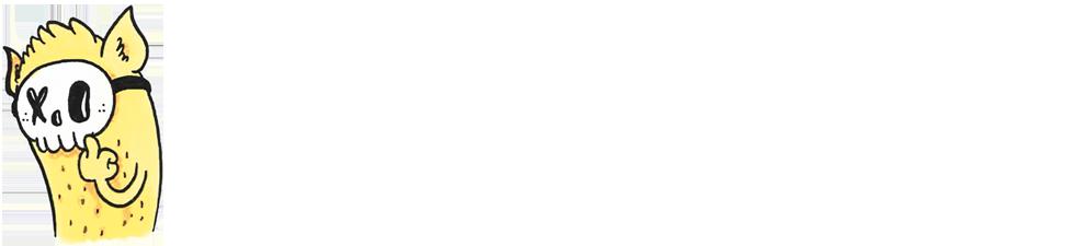 illustratie met figuurtje dat middenvinger opsteekt