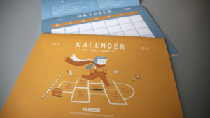 Schoolkalender: naar het eerste leerjaar
