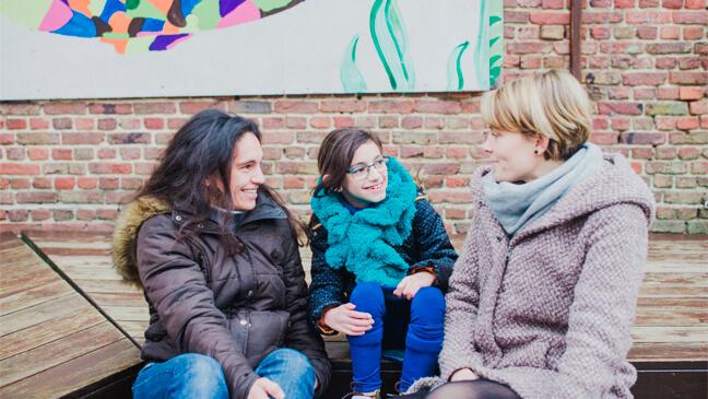 Mama Vanessa, Nyla en juf Kathleen