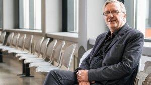 Professor Michel Vandenbroeck van de Universiteit Gent