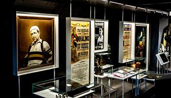 foto uit het museum Koers