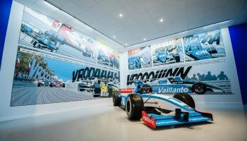 expo van formule 1-auto