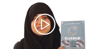 moslima met boek