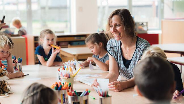 juf Sigrid over klasmanagement