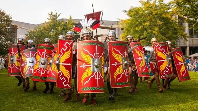 Romeinse strijders