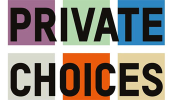 affiche expo Private Choices