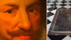 schilderij gezicht Prins Filips