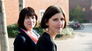 onderzoekers Ellen Claes en Dorien Sampermans (KULeuven)