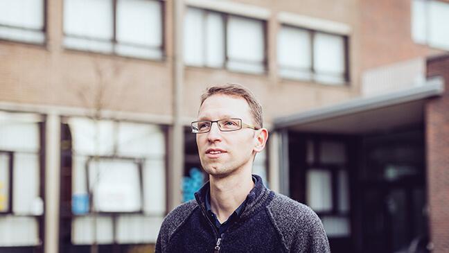 Portret Tom Scheerens