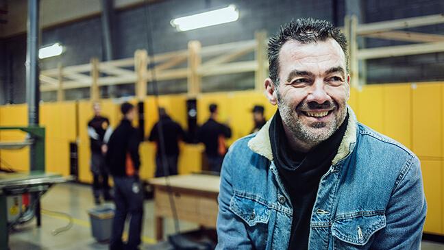 Portret Eddy Decaestecker