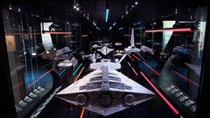beeld uit de expo star wars