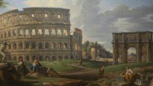 schilderij van het Colloseum