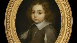 barok portret van kind