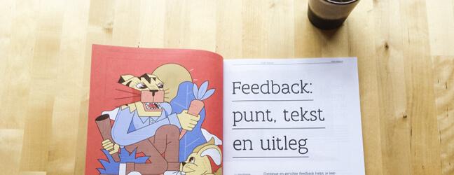 packshot dossier Feedback. Klasse Magazine 11