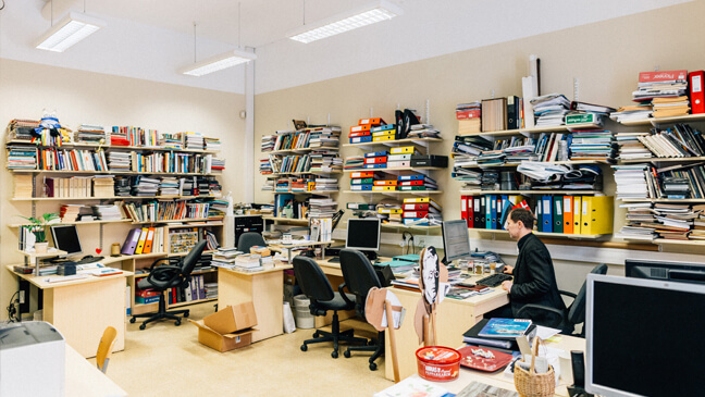 Lerarenkantoor in Estland